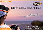 BET YOU CAN FLY : brochure simulateur de vol MULTIPLEX MULTIflight