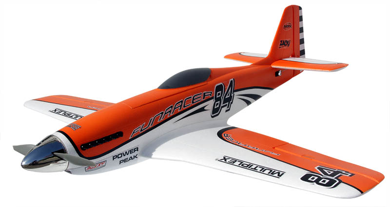 #1-00518 Multiplex FunRacer RR Orange
