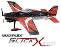 #1-01631 Multiplex SLICK X360 'Indoor Edition' rouge