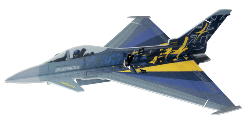 1-01902 Multiplex Eurofighter Indoor Edition kit