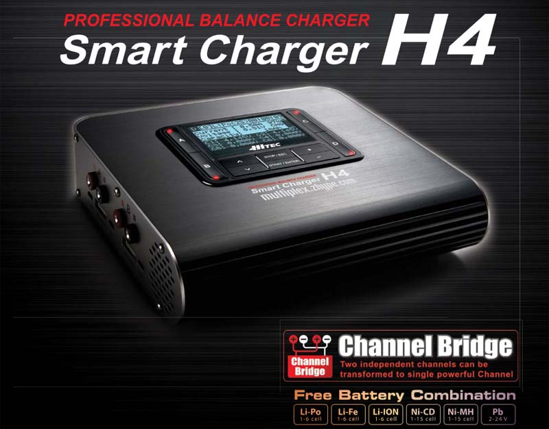114119 HiTEC Smart Charger H4