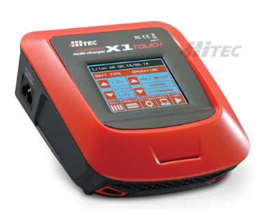 114122 HiTEC Multicharger X1 Touch AC/DC