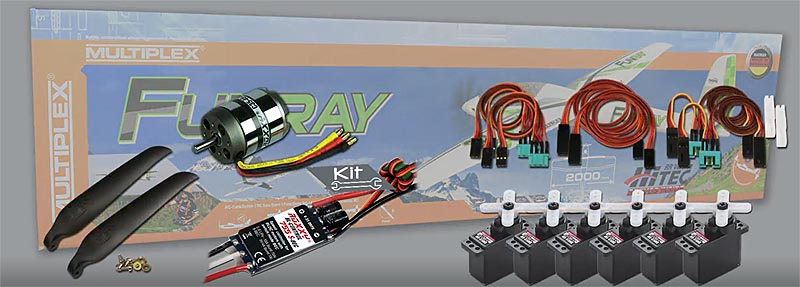 FunRay par Multiplex : options pour le kit