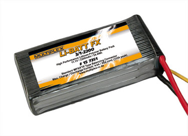 Batterie pour Pilatus PC-6 Turbo-Porter Multiplex