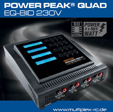 308565 Multiplex Power Peak® Quad EQ-BID 4x50W 12V