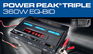 308562 Multiplex Power Peak® TRIPLE 360W EQ-BID
