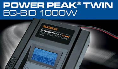308563 Multiplex Power Peak® Twin EQ-BID 1000W